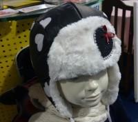 Предлагаю красивые шапки ушанки дембо хаус  Верх плащевка ,подклад тикотаж  . Запорожье, Запорожская область. фото 2