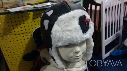Предлагаю красивые шапки ушанки дембо хаус  Верх плащевка ,подклад тикотаж  . Запорожье, Запорожская область. фото 1