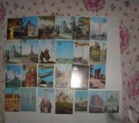 Карманные календарики Города . СССР. 25 штук. Житомир. фото 1