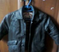 Кожаная куртка. Радомышль. фото 1