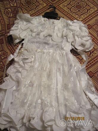 Продам симпатичное платье для вашей малышки. Длина 68 см.. Полтава, Полтавская область. фото 1