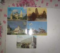 Карманные календарики Города . СССР. 5 штук. Житомир. фото 1