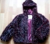 """Детская куртка с мехом """"LINA"""", made in Italy, цвета марсала (темный бордовый мех. Бердичев, Житомирская область. фото 3"""
