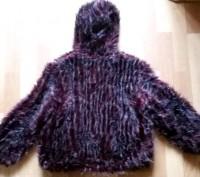 """Детская куртка с мехом """"LINA"""", made in Italy, цвета марсала (темный бордовый мех. Бердичев, Житомирская область. фото 5"""