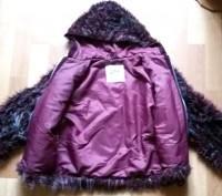 """Детская куртка с мехом """"LINA"""", made in Italy, цвета марсала (темный бордовый мех. Бердичев, Житомирская область. фото 4"""