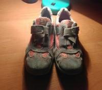 Кроссовки на девочку, фирмы  Bama, в хорошем состоянии,  бежевый с оранжевыми вс. Житомир, Житомирська область. фото 2
