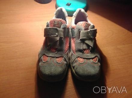 Кроссовки на девочку, фирмы  Bama, в хорошем состоянии,  бежевый с оранжевыми вс. Житомир, Житомирська область. фото 1