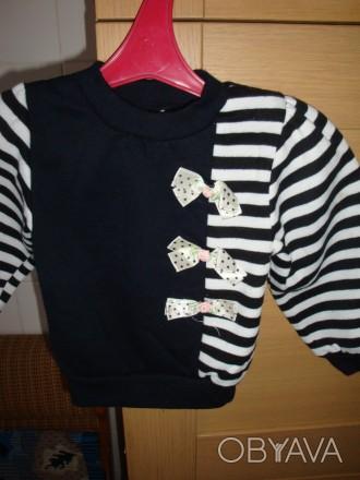 продам свитер для девочки,возраст 1-2 годика,новый. Киев, Киевская область. фото 1