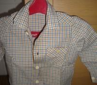 продам рубашку для мальчика,возраст 1-2 годика,новая. Киев, Киевская область. фото 2