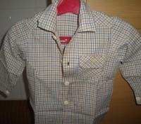 продам рубашку для мальчика,возраст 1-2 годика,новая. Киев, Киевская область. фото 3