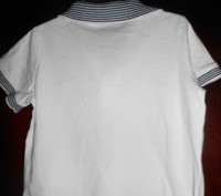 1) белая футболка на 18 мес.,FIRST IMPRESSIONS,цена-55 гр. замеры: длина-33 см. Киев, Киевская область. фото 3