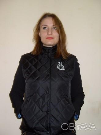 Стеганый, утепленный жилет, униформа спецодежда