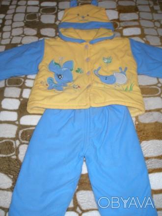 Продам костюмчик весна- осень для малыша 9-12 месяцев.. Миргород, Полтавская область. фото 1