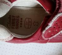 Продам наши туфельки англ.фирмы Clarks.Размер 21 англ.5 по стелька 13,5. На нож. Кременчуг, Полтавская область. фото 8