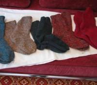 Носки вязанные. Житомир. фото 1