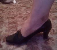 Продам кожаные туфли.Полный 41 размер .Размер стельки 26.5. Подарили на ДР. Каб. Бердичев, Житомирская область. фото 4