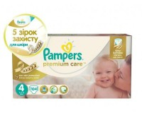Подгузники Pampers Premium Care Dry Max Maxi 4 (8-14 кг) 104 шт. Киев. фото 1