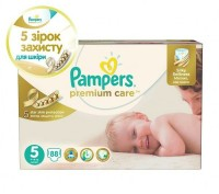 Подгузники Pampers Premium Care Dry Max Junior 5 (11-18 кг) 88 шт. Киев. фото 1