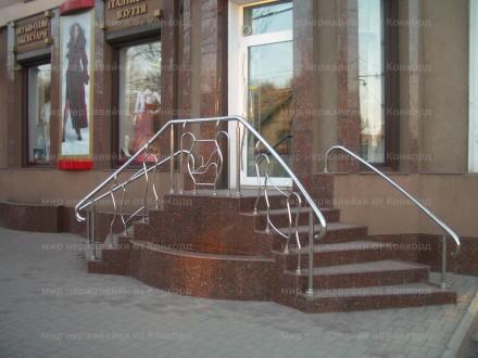 -   перильные ограждения парадных входов и лестничных маршей;    -   комбиниров. Одесса, Одесская область. фото 3