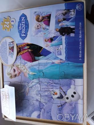 Пазлы в упаковке.Получаются отличные картинки с любимыми героинями.Все целое в н. Киев, Киевская область. фото 1
