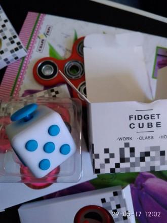 Кубик Fidget Cube представляет собой волшебный кубик, который позволяет однов. Киев, Киевская область. фото 2