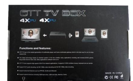 Характеристики Производитель: MXQ Оснащение: TV-тюнер, Smart TV, Доступ в инте. Киев, Киевская область. фото 4