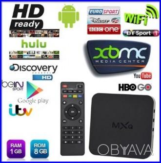 Характеристики Производитель: MXQ Оснащение: TV-тюнер, Smart TV, Доступ в инте. Киев, Киевская область. фото 1