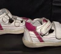 Продам кожаные ортопедические кроссовки Ufo с защитой носочков в хорошем состоян. Запорожье, Запорожская область. фото 3