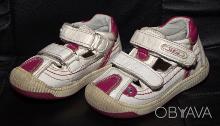 Продам кожаные ортопедические кроссовки Ufo с защитой носочков в хорошем состоян. Запорожье, Запорожская область. фото 1