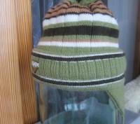 1-2.Тёплая осенняя шапочка.Плотная вязка.Подходит и для мальчиков и для девочек.. Житомир, Житомирская область. фото 11