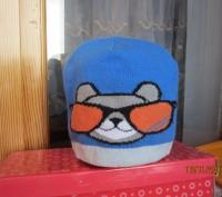 1-2.Тёплая осенняя шапочка.Плотная вязка.Подходит и для мальчиков и для девочек.. Житомир, Житомирская область. фото 8