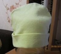 1-2.Тёплая осенняя шапочка.Плотная вязка.Подходит и для мальчиков и для девочек.. Житомир, Житомирская область. фото 7