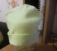 1-2.Тёплая осенняя шапочка.Плотная вязка.Подходит и для мальчиков и для девочек.. Житомир, Житомирская область. фото 6