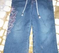 Продам штанишки для девочки 2-3 годика, джинсовые теплые на физке, цена за один . Миргород, Полтавская область. фото 4