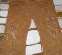Продам штанишки для девочки 2-3 годика, джинсовые теплые на физке, цена за один . Миргород, Полтавская область. фото 3