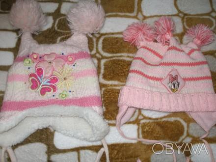 Продам шапки для девочки 1,5-2 годика, цена за одну шапку.. Миргород, Полтавская область. фото 1