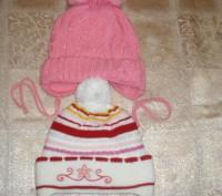 Продам шапки зимние для девочки 2-4 года.... Миргород. фото 1
