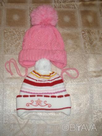 Продам шапки зимние для девочки 2-4 года , цена за один товар.. Миргород, Полтавская область. фото 1