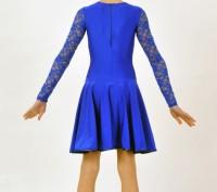 Танцевальное платье с кружевным верхом выглядит стильно и оригинально. Верхняя ч. Бердянск, Запорожская область. фото 3