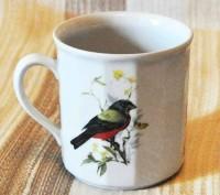 Чашка с птичкой. Киев. фото 1