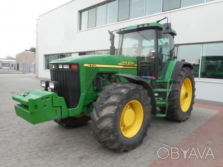 Трактор John Deere 8310 Год выпуска - 2002  Мощность - 260 л.с. Наработка - 1. Хмельницкий, Хмельницкая область. фото 1