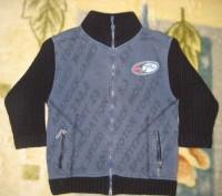 1)свитер на мальчика 3-х-4-х лет в отличном состоянии.воротник на молнии.б/у мал. Кременчуг, Полтавская область. фото 4