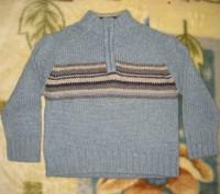 1)свитер на мальчика 3-х-4-х лет в отличном состоянии.воротник на молнии.б/у мал. Кременчуг, Полтавская область. фото 5