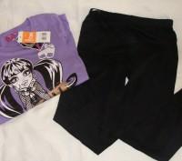 Комплект, пижама -фирменный для девочки TVMANIA- Германия по бирке на 12 л. 152с. Бердичев, Житомирская область. фото 3