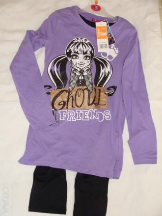 Комплект, пижама -фирменный для девочки TVMANIA- Германия по бирке на 12 л. 152с. Бердичев, Житомирская область. фото 1