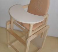 Стульчик для кормления ремни безопасности трансформируется в отдельный стульч. Винница, Винницкая область. фото 9