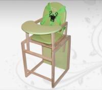 Стульчик для кормления ремни безопасности трансформируется в отдельный стульч. Винница, Винницкая область. фото 4