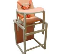 Стульчик для кормления ремни безопасности трансформируется в отдельный стульч. Винница, Винницкая область. фото 3