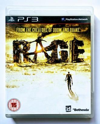 Rage PS3 диск. Запорожье. фото 1