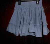 Джинсовая юбка на 4 года,пышная,пояс резинка,в отличном состоянии замеры: длина. Киев, Киевская область. фото 2